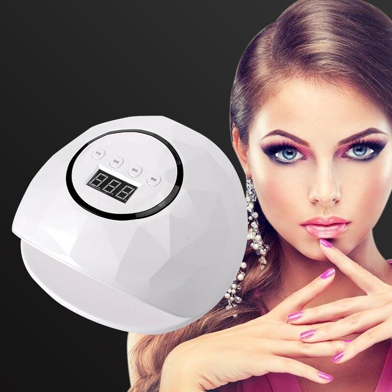F5 UV Lamp 72W 24 LED Lamp For Nails UV LED Nail Lamp Gel Polish Manicure Drying Nails Dual Ice lamp Gel Polish Manicure цена 2017
