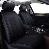Car Wind Custom leather car seat cover for toyota mercedes benz Mazda 2 3 CX5 honda civic renault koleos VW polo CAR accessory