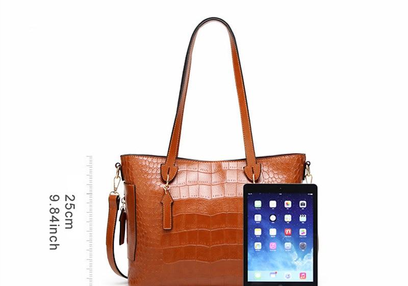 alligator crossbody bag for women shoulder bag female handbag ladies elegant shopping bag_02
