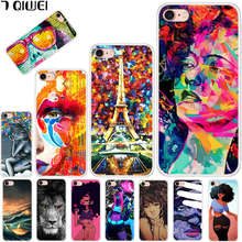 hot deal buy for iphone 7 case 4.7'' soft tpu silicone back cover for apple iphone 7 case funda modern fashion for iphone 8 iphone8 para