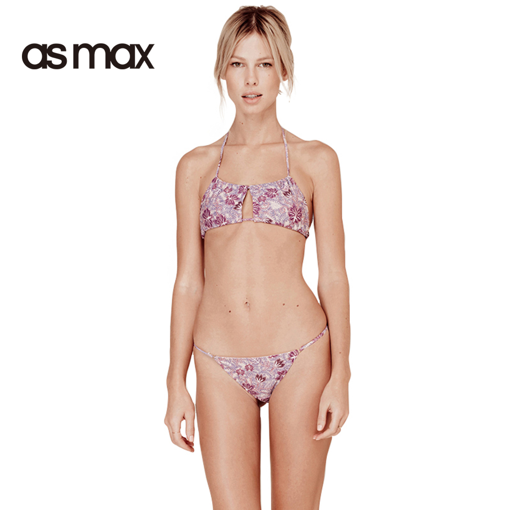 Asmax 2017 Women Swimsuits Multicolor Cut Out Bathing -5592