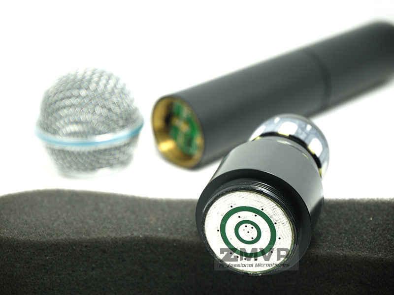 Sistema sem fio do karaoke slx do microfone sem fio profissional slx24 beta58 da frequência ultraelevada de zmvp com a faixa handheld 800-820 mhz do transmissor 58a