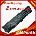 Batería para toshiba portege m800 satellite a660 a665 c650 c650d C655 C655D L510 L310 L515D L645 L600 L630 L635 L640 PA3634U-1BRS