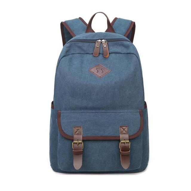 new 2018 school bags for boys blue canvas backpack children backpacks kids  school bag pack travel c0da7d1103e53