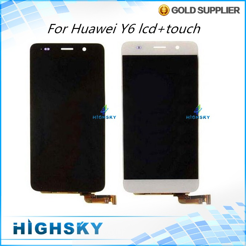 For Huawei Y6 LCD 4G SCL L21 Honor 4A Display With Touch Screen Digitizer Assembly Free