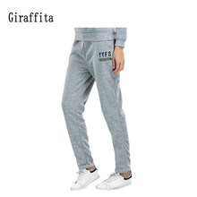 2017 New Sport Running Pants Tracksuit Bottoms Woman Pants Cotton Sweatpants Mens Joggers Solid Pants Gyms Clothing Plus Size