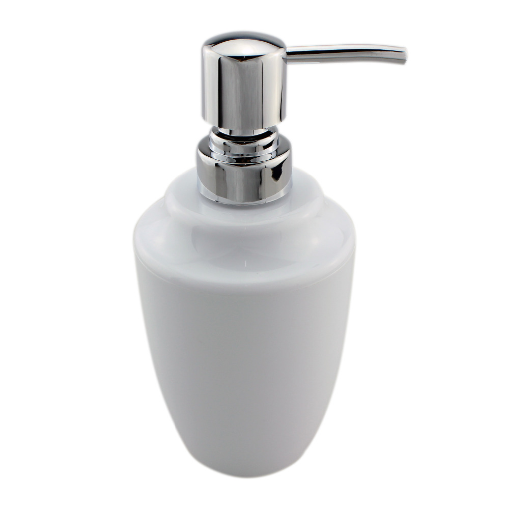 Acrylic Soap Lotion Liquid Dispenser Pump Countertops Bottle Kitchen ...