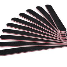 50PCS Sanding Nail File Nail Art Buffer Salon Glitter Tools