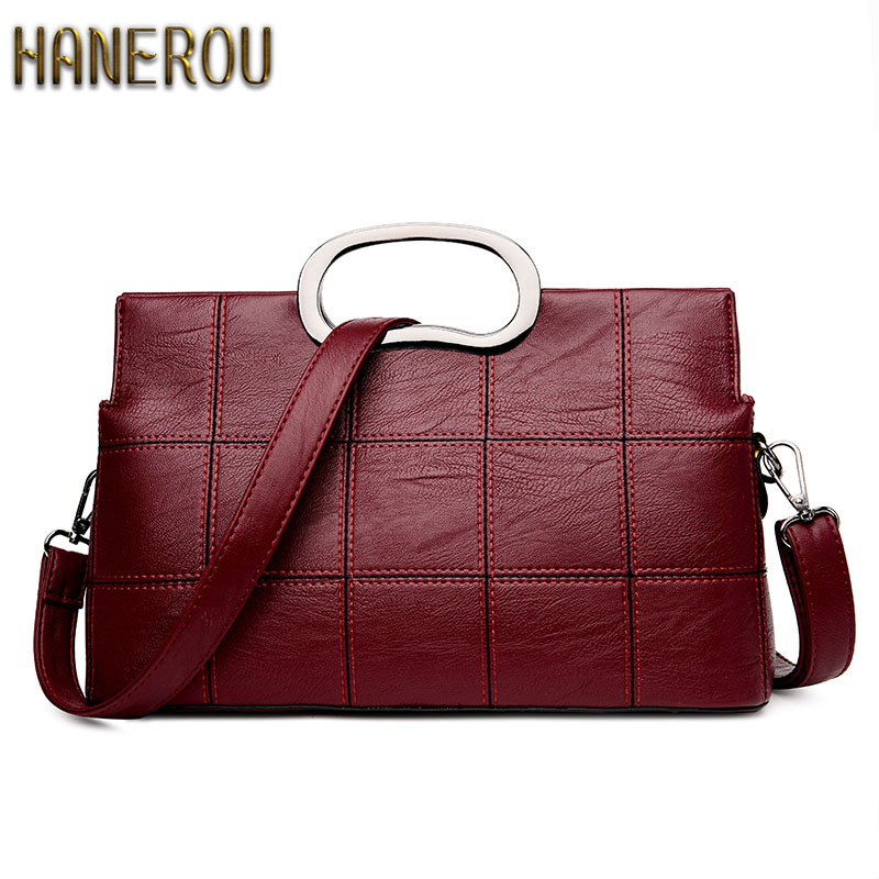 2019 Fashion Women Bag Luxury Brand PU Leather Women Messenger Bags Shell Bag Ladies Handbags New Woman Leather Handbags Sacs