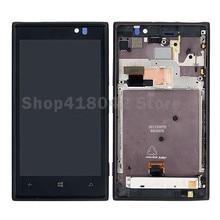 Para Nokia Lumia 925 Pantalla LCD Con Pantalla Táctil Digitalizador Asamblea Frame Envío Libre