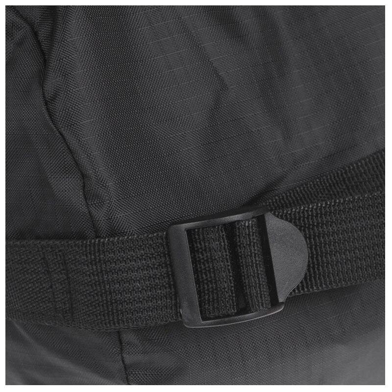Синий поле высокой емкости компрессионный мешок Открытый Кемпинг Спальный Черный S