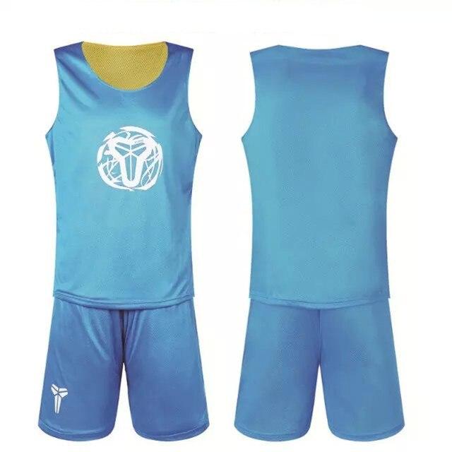 2985a9421a 2017 Adultos de Los Hombres camiseta de Baloncesto Reversible Establece kits  de los Uniformes Deportivos ropa