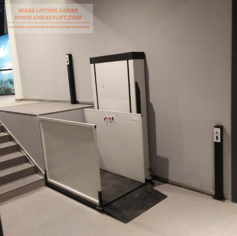 2m Pwd Lift Wheelchair Lift Elevator For Home Terrific Value