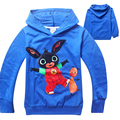 1pieces Children's T-shirt Bing Bunny rabbit cartoon boys and girls longt sleeve Tshirt kids autumn retail selling