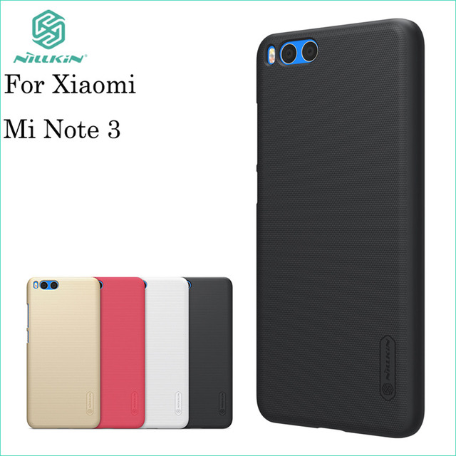 outlet store d373a 462b1 US $7.19 10% OFF|Nillkin Case For Xiaomi mi Note 3 Case Cover Hight Quality  Super Frosted Shield Case For Xiaomi mi Note 3 -in Fitted Cases from ...
