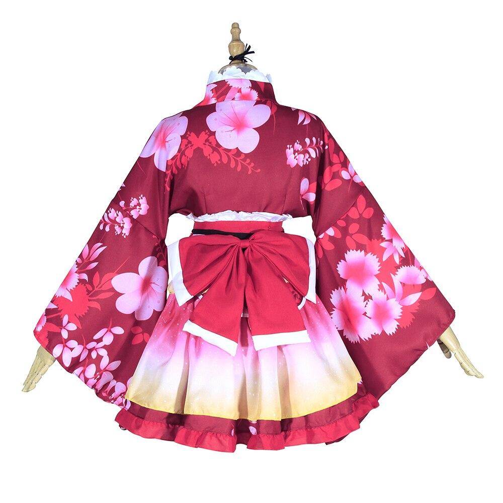 ROLECOS Anime Love Live Cosplay Costumes Kousaka Honoka Sonoda Umi Nishikino Maki Kimono Cosplay Costumes Love Live Yukata    3