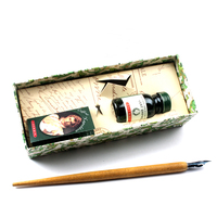 High Quality Nepoleon Antique Dip Pen with Gift Box Luxury Fountain Pen Set