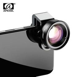 APEXEL Lente Macro 100 milímetros Lente Da Câmera Do Telefone 4 K HD Super Lentes Macro CPL Filtro Da Estrela para iPhonex xs max Samsung s9 todos os smartphones