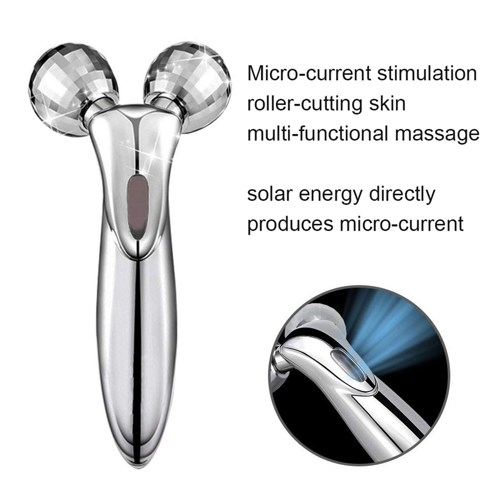 3d Roller Beauty Facial Machine Skin Tightening Acne Wrinkles Remover Slimming Good Heat Preservation Anti-aging Products