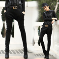 (Give belt) 2016 New Casual Hip Hop Dance Big crotch Pants women baggies harem Trousers womens skinny sweatpants