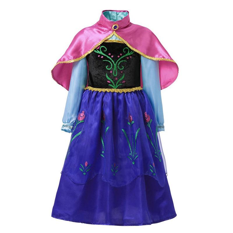 HTB1clrMJjTpK1RjSZKPq6y3UpXaC Fancy Baby Girl Princess Clothes Kid Jasmine Rapunzel Aurora Belle Ariel Cosplay Costume Child Elsa Anna Elena Sofia Party Dress