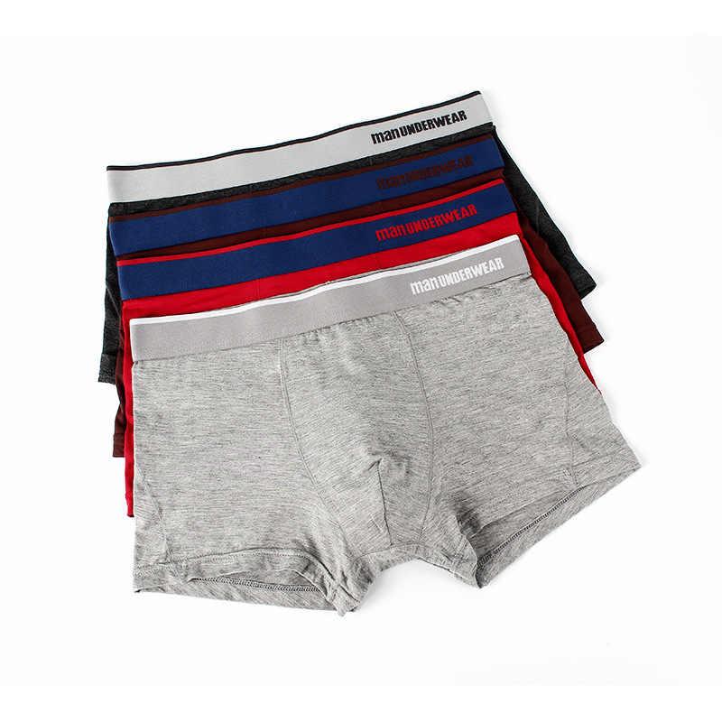 3 adet erkek iç çamaşırı Nefes Konfor erkek Boxer erkek Seksi Iç Çamaşırı Erkek Iç Çamaşırı Boksörler Calzoncillo Hombre Erkekler Boxer