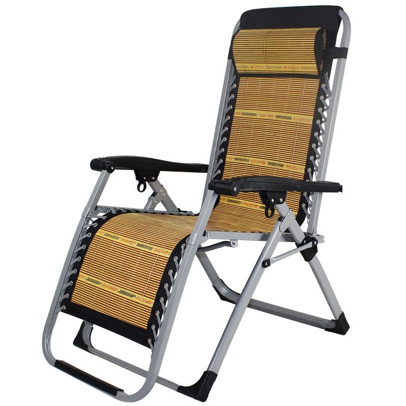 Summer outdoor home lunch chairs leisure office bamboo ...