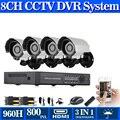 800TVL HD Sem Fio 3G CCTV home security sistema de videovigilância KIT 8CH 1080 p NVR 960 h DVR ao ar livre sistema de Câmera de segurança