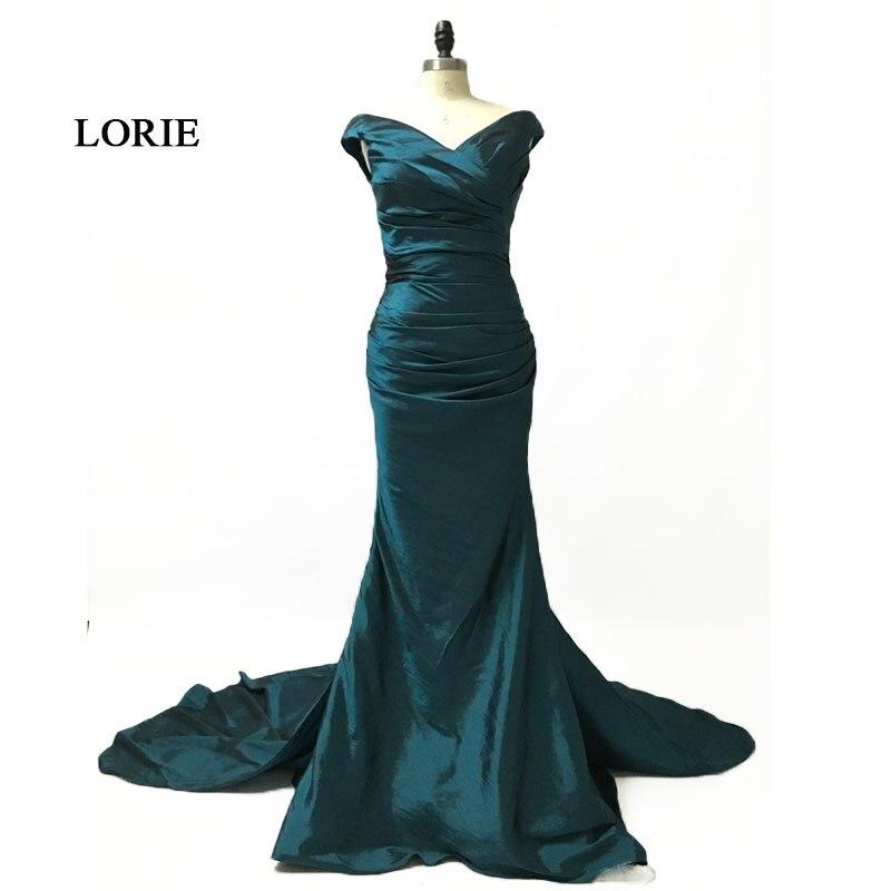 180a6eb5 2019 vestidos largos reales para la sirena del partido fuera del ...