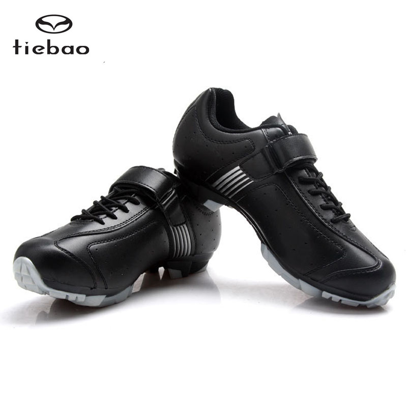 New TIEBAO Professional Bicycle Cycling Shoes For Men Women MTB Mountain Bike Self-Locking Shoes Breathable Athletic Shoes