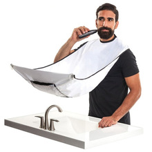 Bathroom Accessorie Male Beard Apron Men Haircut with Suction Waterproof Floral Cloth Household gadget Cleaning Protecter