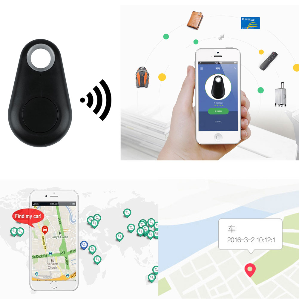 Wallet-Key Gps-Locator Bluetooth-Tracker Child Finder Alarm Anti-Lost iPhone for Smart-4.0