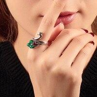 Vintage Ringen Voor Vrouwen Valentijnsdag Gift Charm Sieraden verklaring Sieraden Trouwringen Bague Femme Anel Groothandel