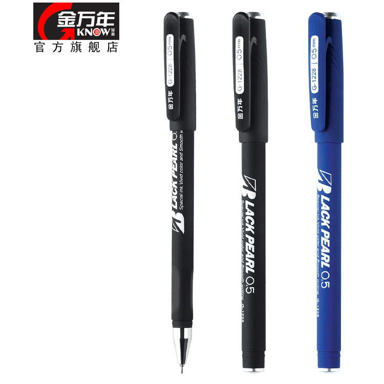 1pcs/lot Cap unisex pen 0.5mm full needle antibiotic slip-resistant pen Genvana g-1228 free shipping