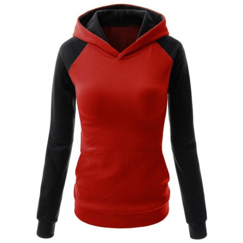 Girls Hoodies Sweatshirt Casual Hooded Long Sleeve Pocket Design Embroidered Hoodie For Girls Sudaderas Mujer