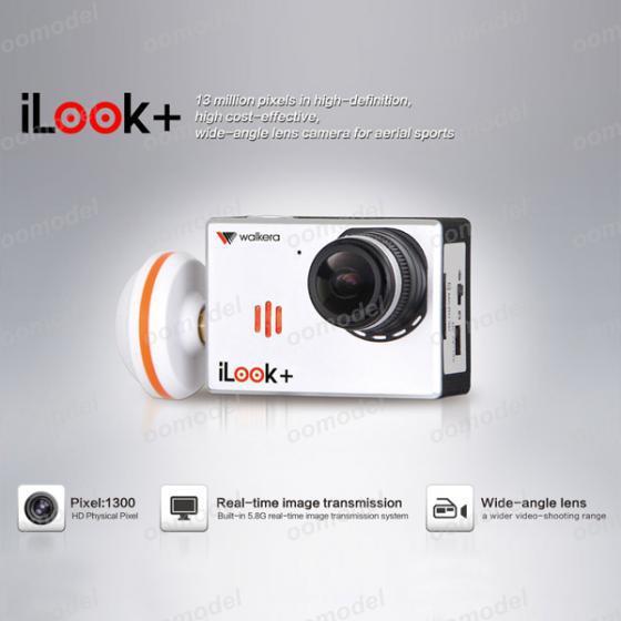 Walkera iLook + FPV HD kamera 1920x1080P 13MP z vgrajenim oddajnikom - Radijsko vodene igrače