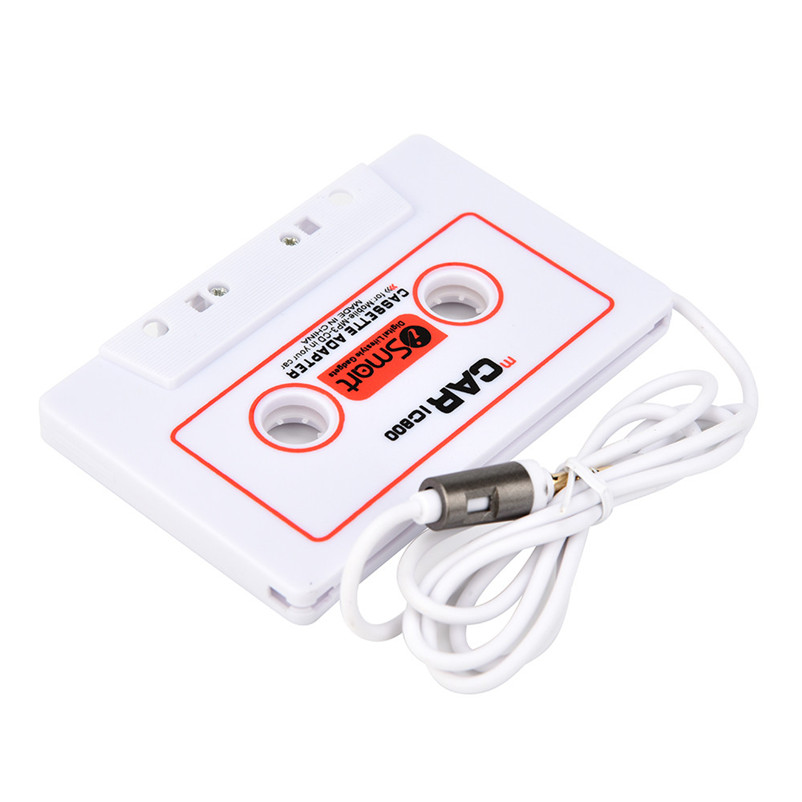 For Car Automobile IC800 Cassette Casette Tape 3.5mm AUX Audio Adapter For MP3/MP4 CD For iPod/iPhone Car Audio A8