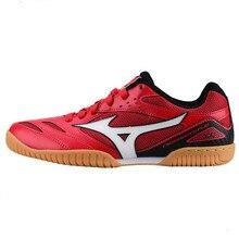 Оригинальная обувь для настольного тенниса Mizuno Crossmatch Plio Cn для мужчин и женщин; обувь для тренировок в помещении; амортизирующая национальная команда; кроссовки