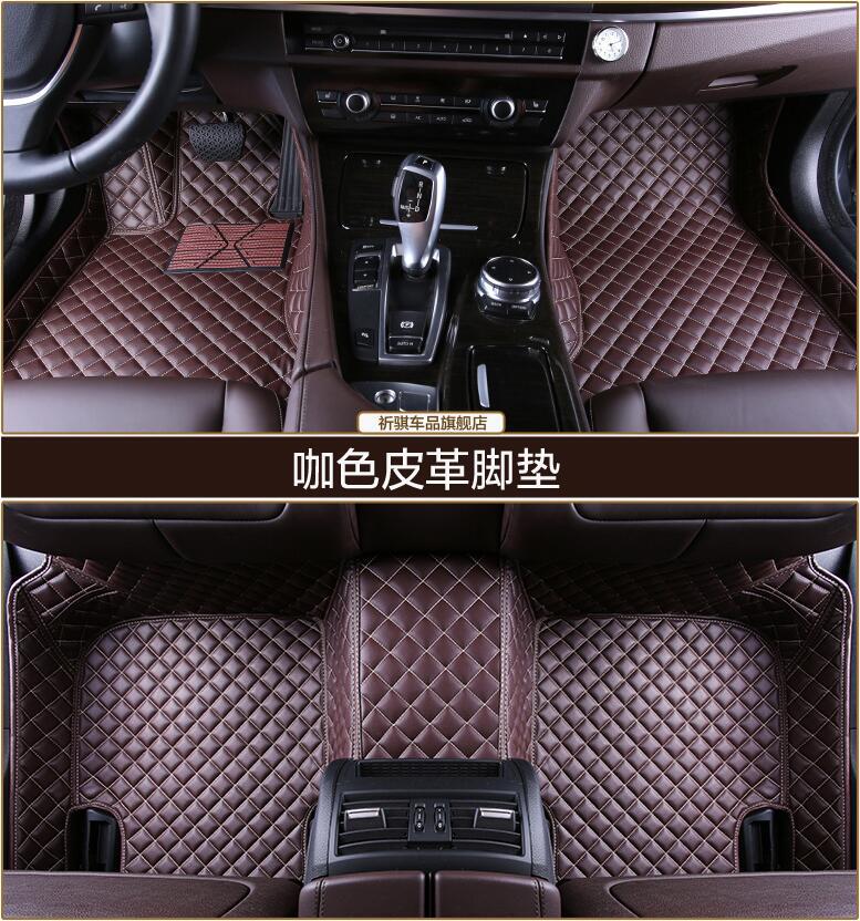 3D De Luxe Slush Tapis Pad Tapis De Pied Tapis Pour Honda ville 2009 2010 2011 2012 2013 2014/2015 2016 2017 (6 couleurs) LIVRAISON PAR EMS