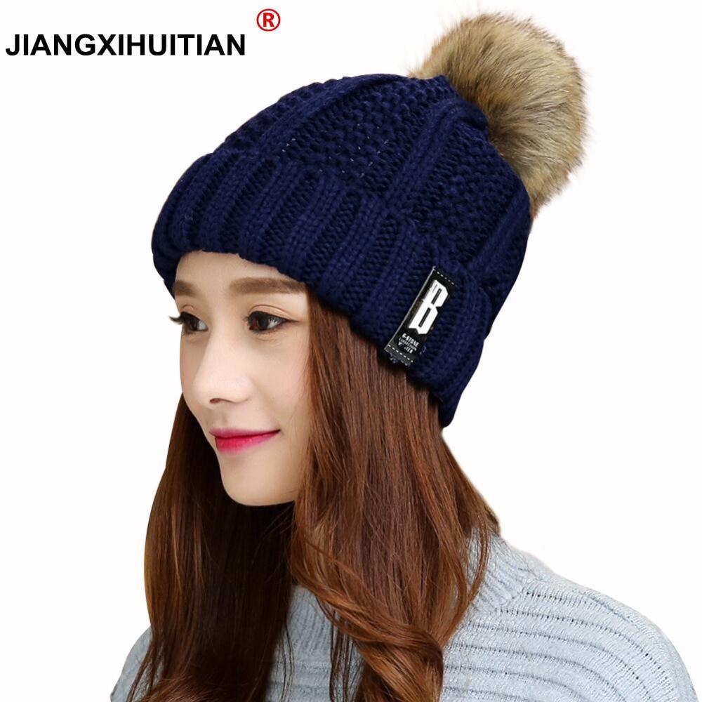 jiangxihuitian Winter Hats   Skullies     Beanies   Hat Winter   Beanies   For Men Women Wool Caps Balaclava Mask Gorras Bonnet Knitted Hat