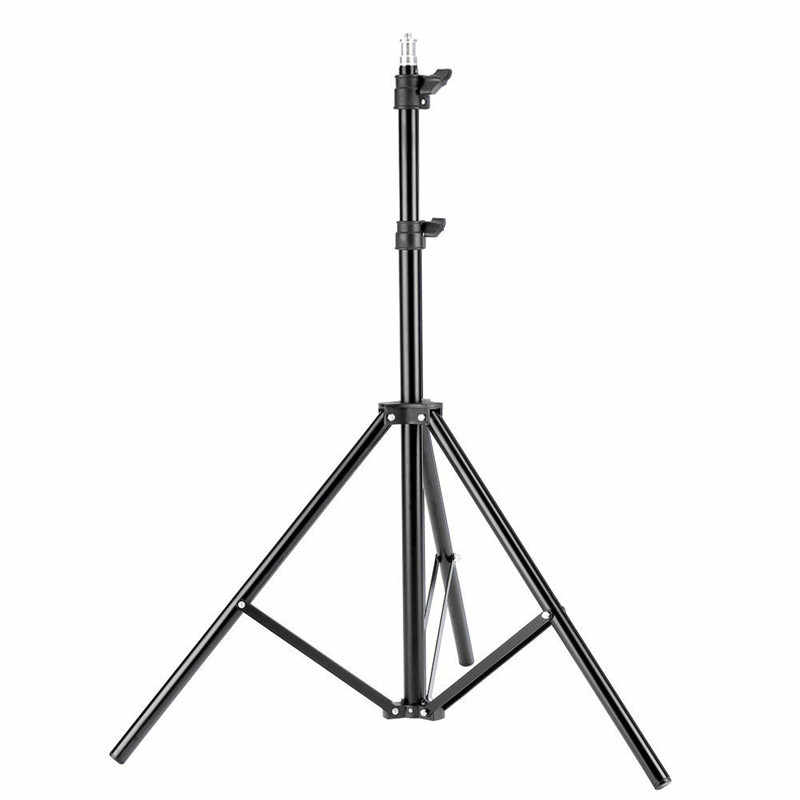 Profesional Portable Light Stand Tripod untuk Berkedip Pencahayaan Fotografi Perjalanan Studio Adjustable Soft Box Flash Terus Menerus