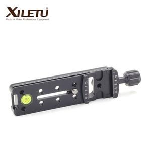 Image 4 - XILETU NNR 140 מצלמה סוגר התארך מהיר שחרור צלחת הידוק עבור פנורמי ומאקרו ירי Arca שוויצרי