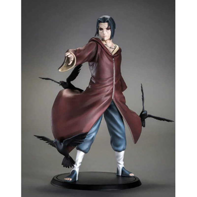 TSUME XTRA Uchiha Itachi Action Figures,18CM Figure Collectible Toys,Action Collectible Brinquedos Kids Model Toys Gift patrulla canina with shield brinquedos 6pcs set 6cm patrulha canina patrol puppy dog pvc action figures juguetes kids hot toys
