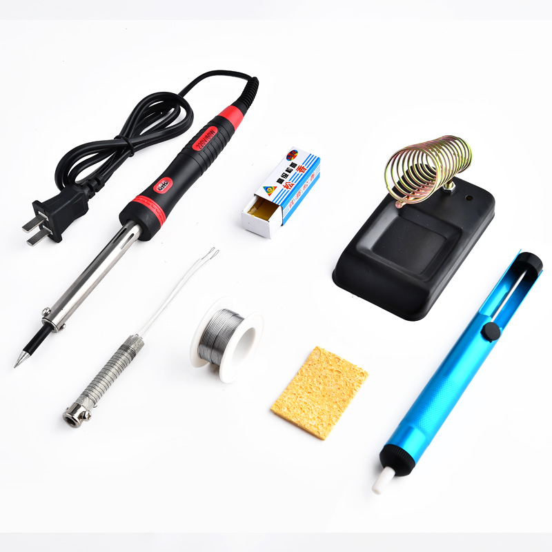Adjustable Temperature Soldering Iron 60W Heating Element Welding Rework Station Holder  Upgrade 220V Phone Computer Repair Tool
