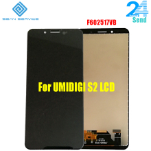 6.0 inch For UMIDIGI S2 LCD Display+Touch Screen Digitizer Assembly Original  LCD+Touch Digitizer F602517VB 20pcs lot dhl ems original for lenovo s930 lcd display assembly complete touch screen digitizer 6 0 inch free shipping