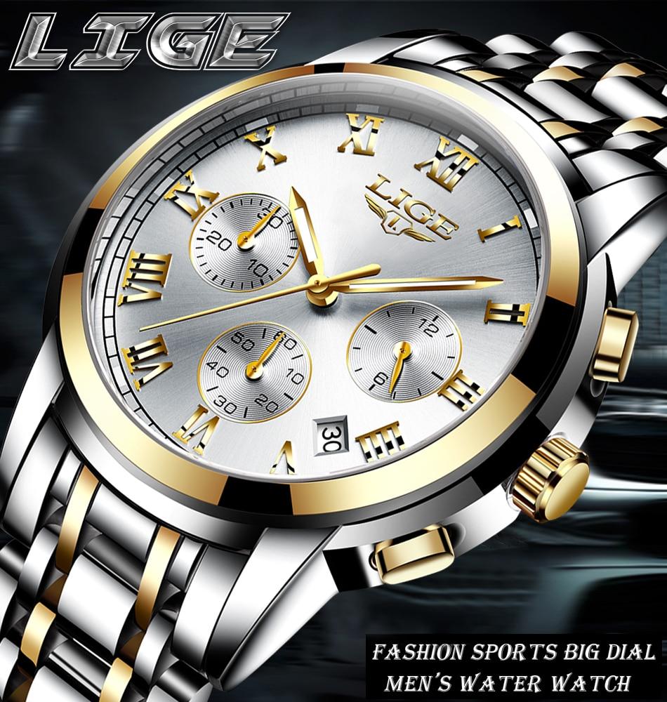 HTB1clube75E3KVjSZFCq6zuzXXao LIGE Men Watches Top Luxury Brand Full Steel Waterproof Sport Quartz Watch Men Fashion Date Clock Chronograph Relogio Masculino