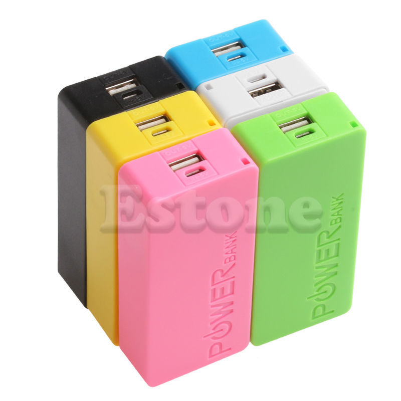 Accessories & Parts Mobile Power Case Box Usb 18650 Battery Cover Keychain For Consumer Electronics Quality And Quantity Assured
