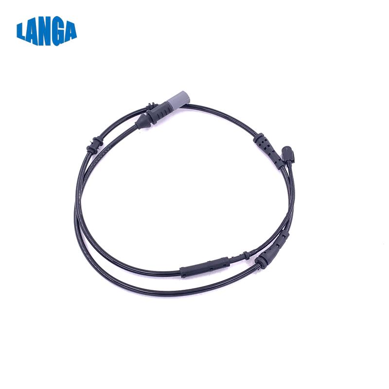 Darmowa wysyłka tylny hamulec tarczowy Pad czujnik zużycia hamulca czujnik dla bmw F01/F02 OEM: 34356791960
