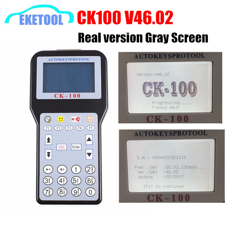 CK100 Auto Key Programmer Real V46.02 Gray Screen The Latest SBB Update Version With 1024Tokens CK 100 V46.02 For Toyota G CK100 Auto Key Programmer Real V46.02 Gray Screen The Latest SBB Update Version With 1024Tokens CK 100 V46.02 For Toyota G