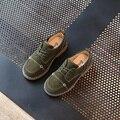 Niños de la manera shoes 2017 nueva primavera inglaterra estilo fashion kids shoes para niñas niños solo zapato con cordones tamaño 27 ~ 36